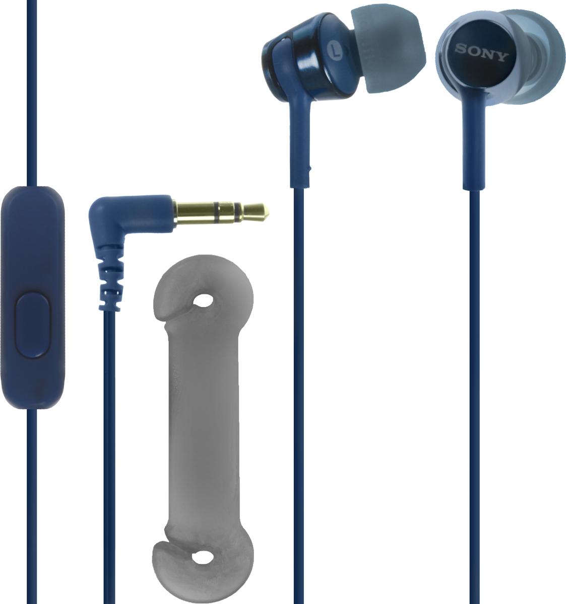 Sony EX155AP, Blue наушники