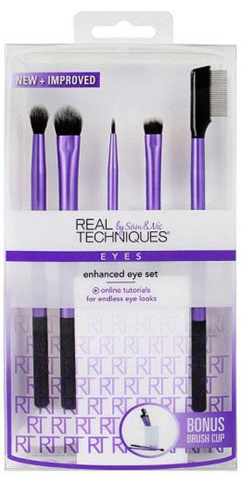Real Techniques Набор для макияжа глаз Enhanced Eye Set цена 2017