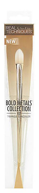 Real Techniques Bold Metals Кисть для консилера 102 Triangle concealer