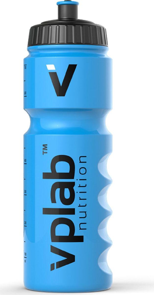 Бутылка для воды Vplab Gripper, цвет: голубой, 750 мл бутылка для воды contigo autospout chug голубой 720 мл