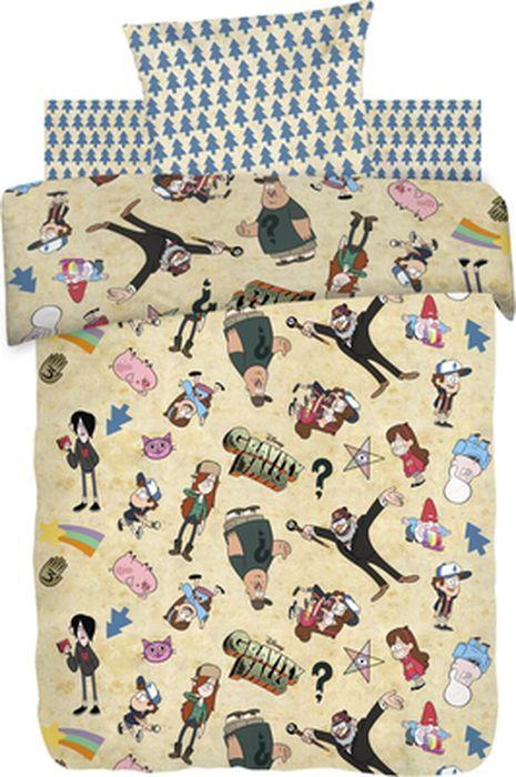 Комплект детского постельного белья Гравити Фолз