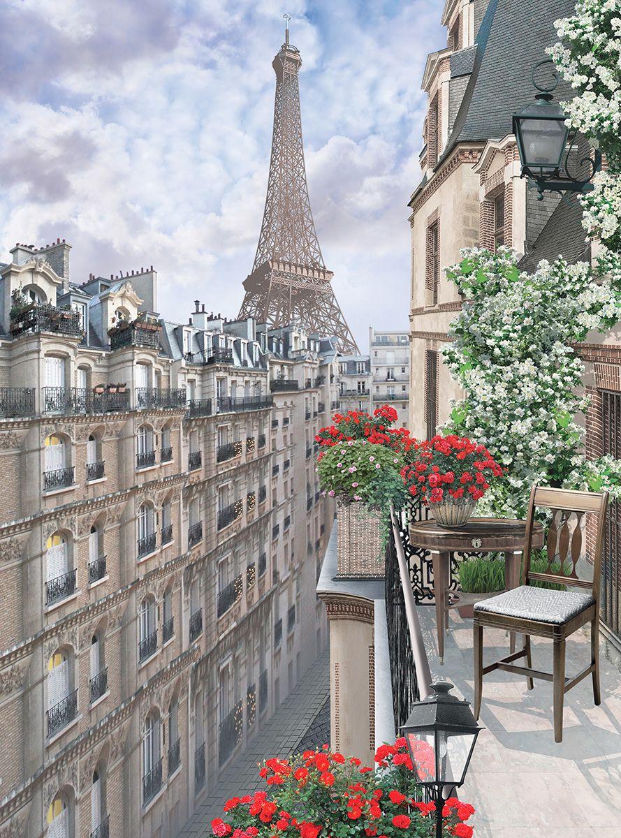 Фотообои флизелиновые Milan Париж, текстурные, 2 х 2,7 м milan yohimbinum d4 5 мл возбуждающие капли на основе йохимбина