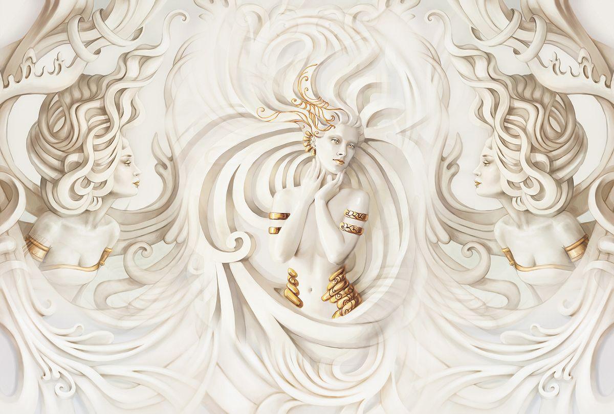 Фотообои флизелиновые Milan Грация, текстурные, 4 х 2,7 м milan yohimbinum d4 5 мл возбуждающие капли на основе йохимбина