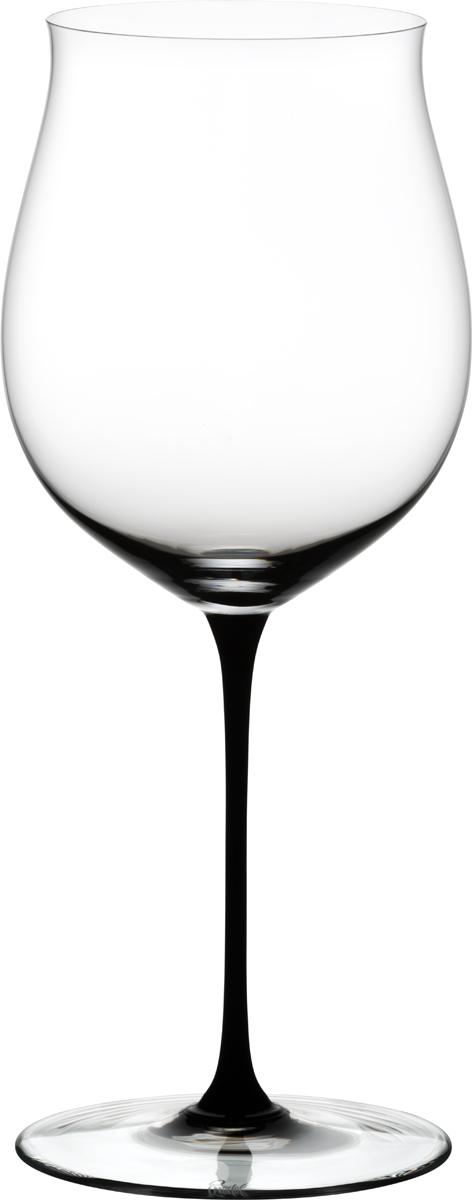 Фужер для красного вина Riedel Sommeliers Black Tie. Bordeaux Grand Cru, цвет: прозрачный, черный, 1050 мл фужер riedel sommeliers rheingau хрусталь 210 мл в подарочной упаковке