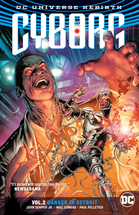 Cyborg Volume 2: Danger in Detroit (Rebirth)