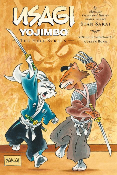Usagi Yojimbo: Volume 31: The Hell Screen the art of usagi yojimbo