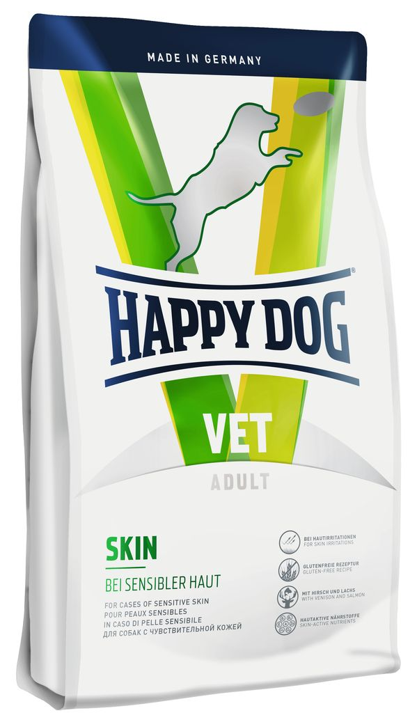 """Корм сухой Happy Dog """"Skin"""" для собак с чувствительной кожей, 12,5 кг"""