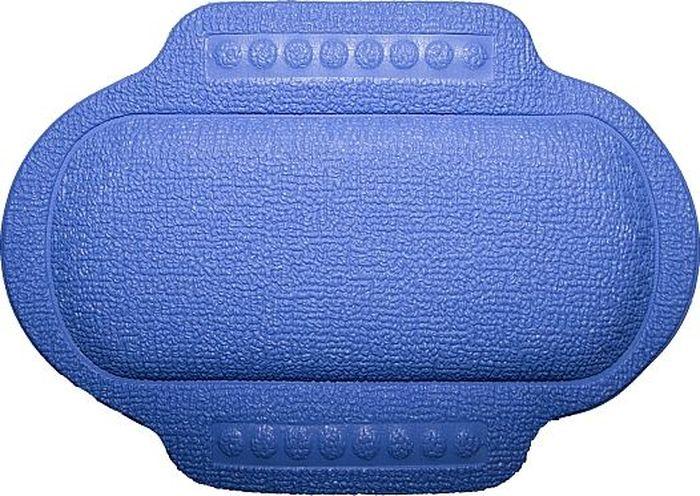 Подголовник для ванны Bacchetta, цвет: синий, 25 х 34 см