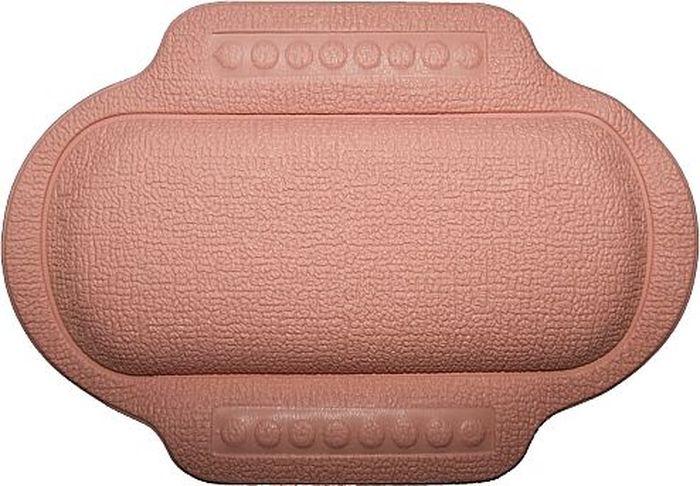 Подголовник для ванны Bacchetta, цвет: розовый, 25 х 34 см