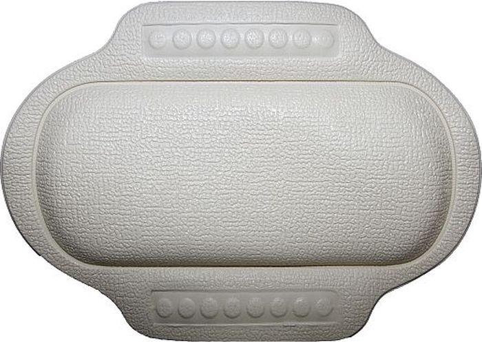 Подголовник для ванны Bacchetta, цвет: белый, 25 х 34 см