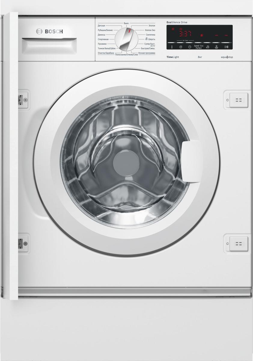 Bosch WIW28540OE, White стиральная машина встраиваемая