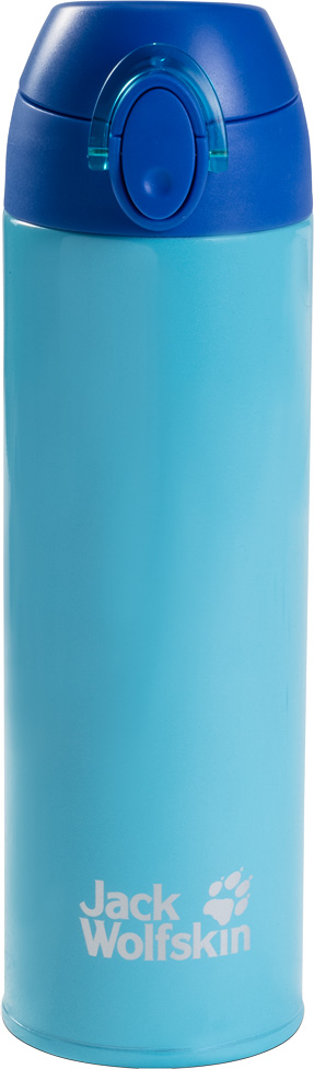 Термос Jack Wolfskin Thermolite Bottle 0,5, цвет: голубой, 0,5 л. 8006041-1103 термос jack wolfskin thermo bottle grip 0 9 цвет черный 0 9 л 8000331 6000