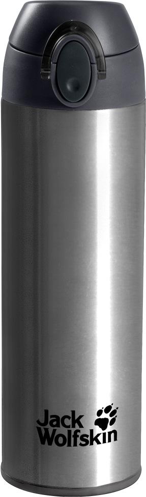 Термос Jack Wolfskin Thermolite Bottle 0,5, цвет: серый, 0,5 л. 8006041-4700 термос jack wolfskin thermo bottle grip 0 9 цвет черный 0 9 л 8000331 6000