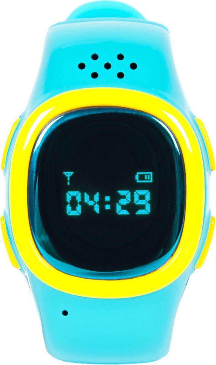 Умные часы EnBe Children Watch 2 с GPS трекером, синий enbe enjoy the best children watch 529 black