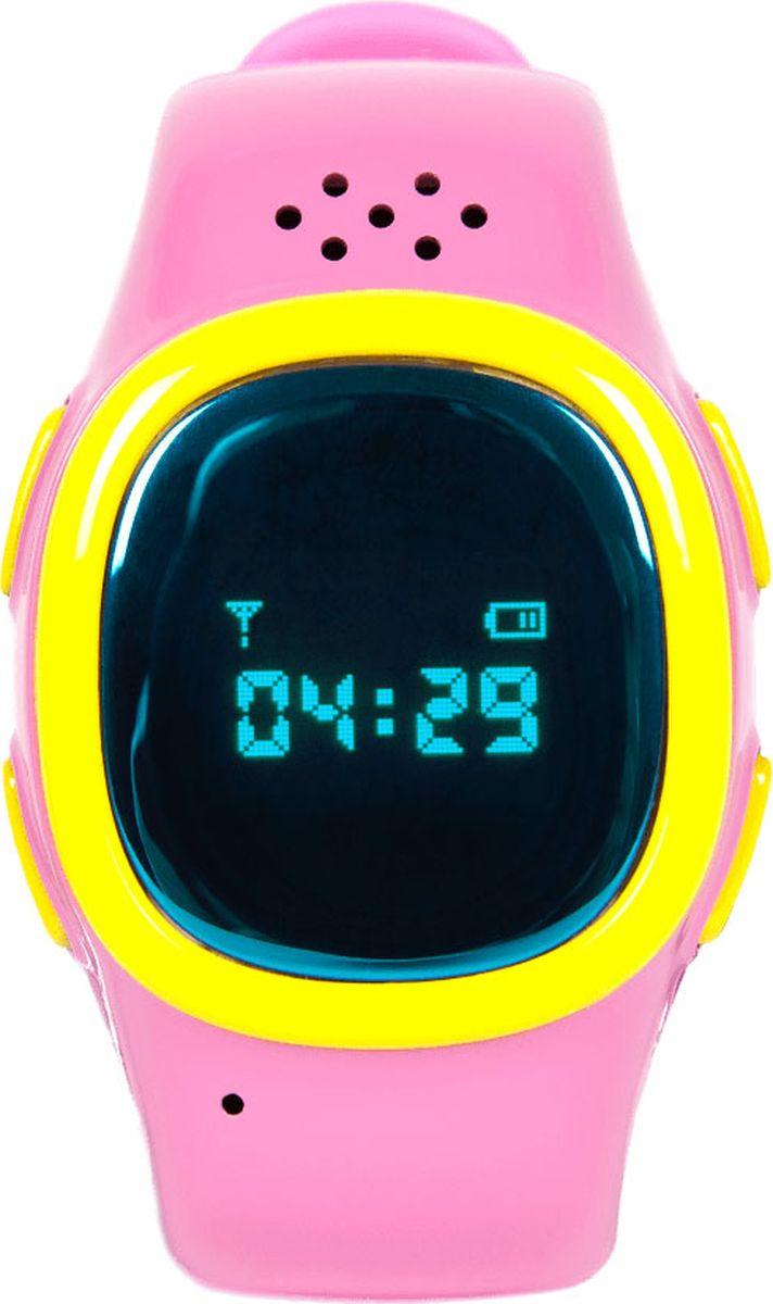 Умные детские часы EnBe Children Watch 2, с GPS трекером, розовый enbe enjoy the best children watch 529 black