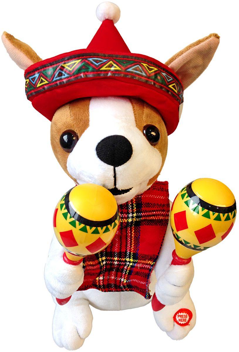 Lapa House Мягкая озвученная игрушка Собачка 30 см 56140 sima land мягкая игрушка собачка шарик 14 см