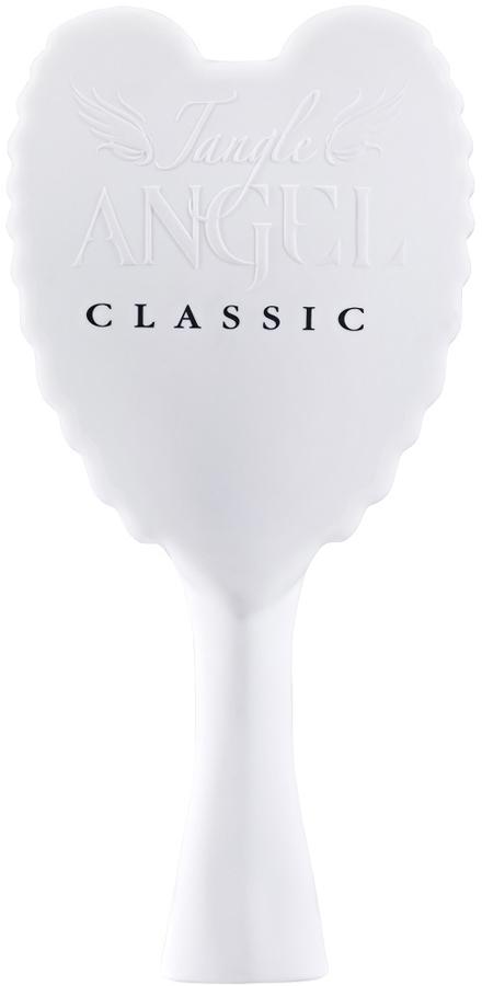 Tangle Angel Расческа для волос Classic White (Black Bristles)