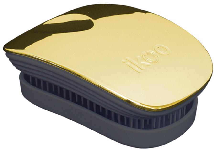 Ikoo Pocket Расческа для волос Black Soleil Metallic