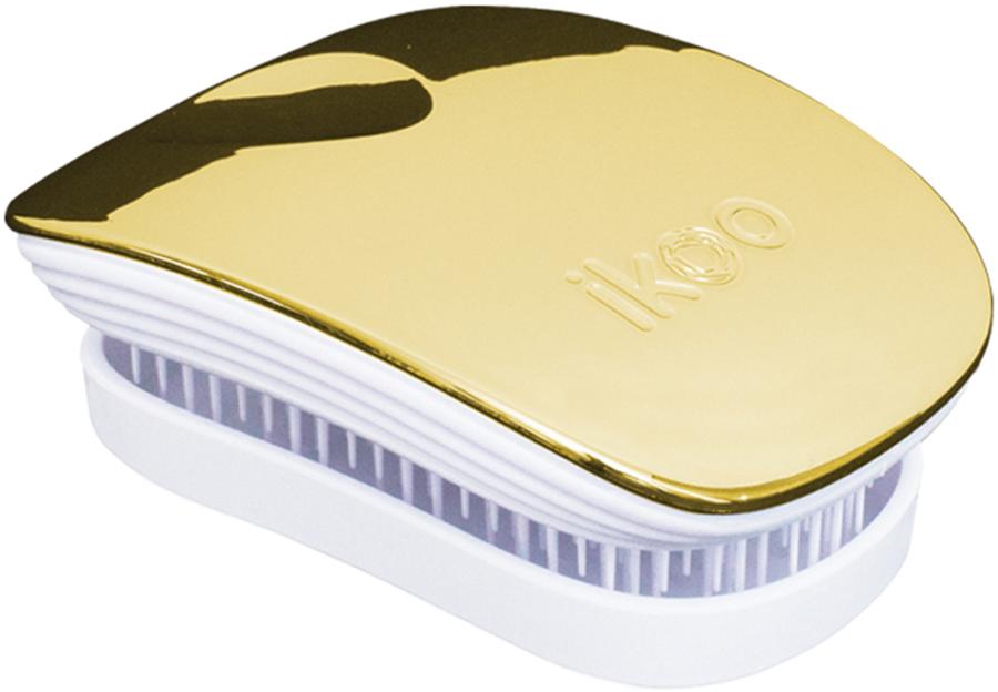 Ikoo Pocket Расческа для волос White Soleil Metallic