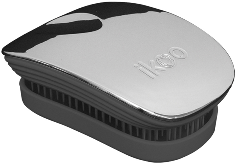 Ikoo Pocket Расческа для волос Black Oyster Metallic
