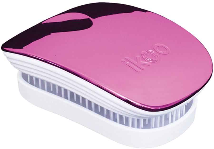 Ikoo Pocket Расческа для волос White Cherry Metallic цена