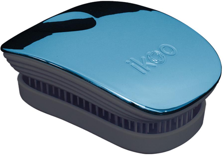 Ikoo Pocket Расческа для волос Black Pacific Metallic
