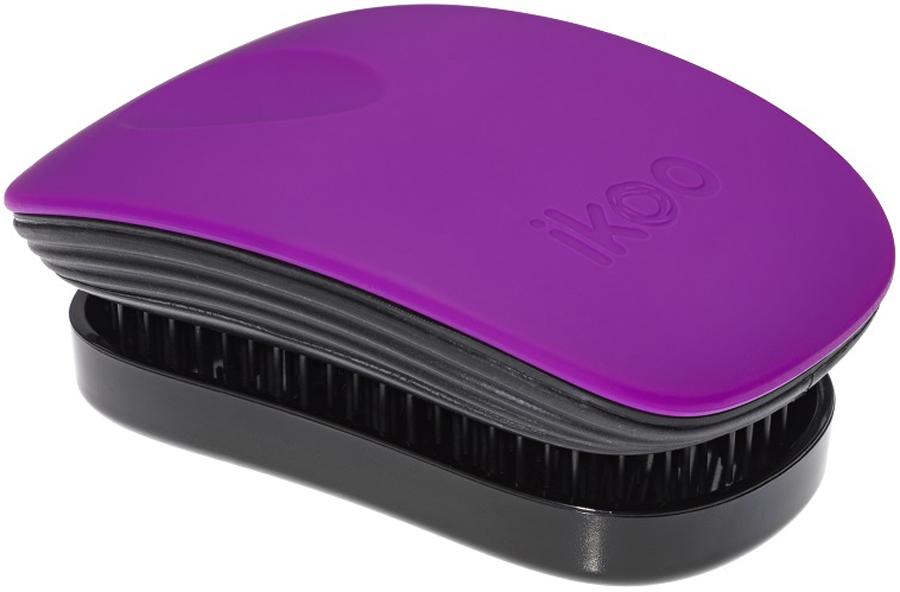 Ikoo Pocket Расческа для волос Paradise Black Suger Plum