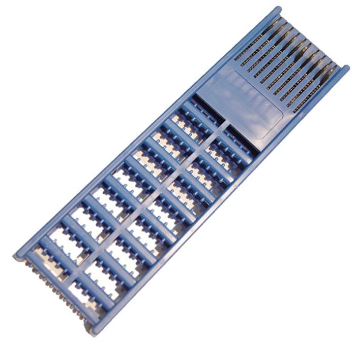 Мотовило AGP, для поводков с пружиной, цвет: синий
