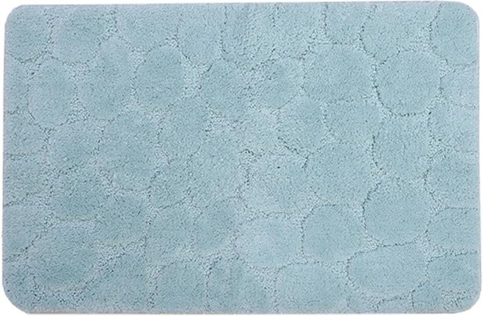 Коврик для ванной Dasch Милена, цвет: бирюзовый, 50 х 80 см5821Невероятно мягкий ворсовый коврик для вашей ванной комнаты. Ворс выполнен из микрофибры по уникальной технологии, разработанной специально для этой коллекции. Тончайшая микрофибра закручена в нить ворса таким образом, что она наполнена воздухом, и буквально дышит, что делает ворс невероятно мягким и нежным на ощупь. Благодаря такой технологии изготовления коврик обладает высокими влаговпитывающими свойствами. Яркие расцветки достигаются окрасом нитей высококачественными красителями, которые дают насыщенный цвет, не выцветают со временем и не линяют при стирке и использовании. Основание коврика выполнено из высококачественного латекса, который обеспечивает противоскользящий эффект, не крошится даже при длительном использовании. Коврик подходит для пола с подогревом. Допускается деликатная ручная или машинная стирка при t=30°C). После стирки коврик быстро сохнет. Плотность ворса: 700 гр/м2.