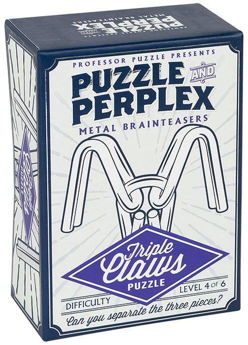 Professor Puzzle Головоломка Тройной захват настольная игра головоломка маэстро додекаэдр