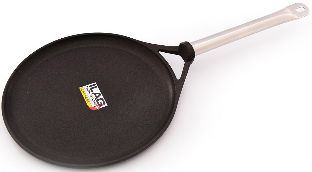 Сковорода блинная Fissman Pro, с антипригарным покрытием. Диаметр 28 см сковорода fissman prestige с антипригарным покрытием диаметр 26 см