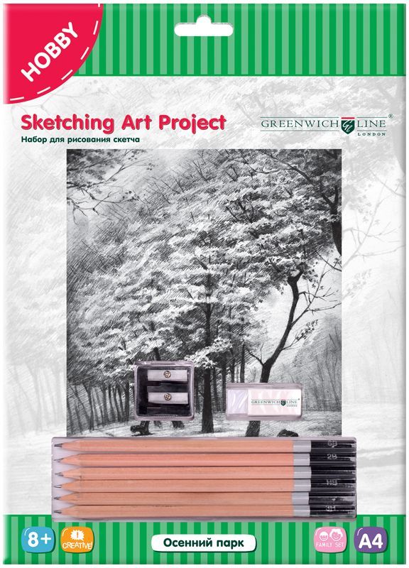 Greenwich Line Набор для рисования Осенний парк цены