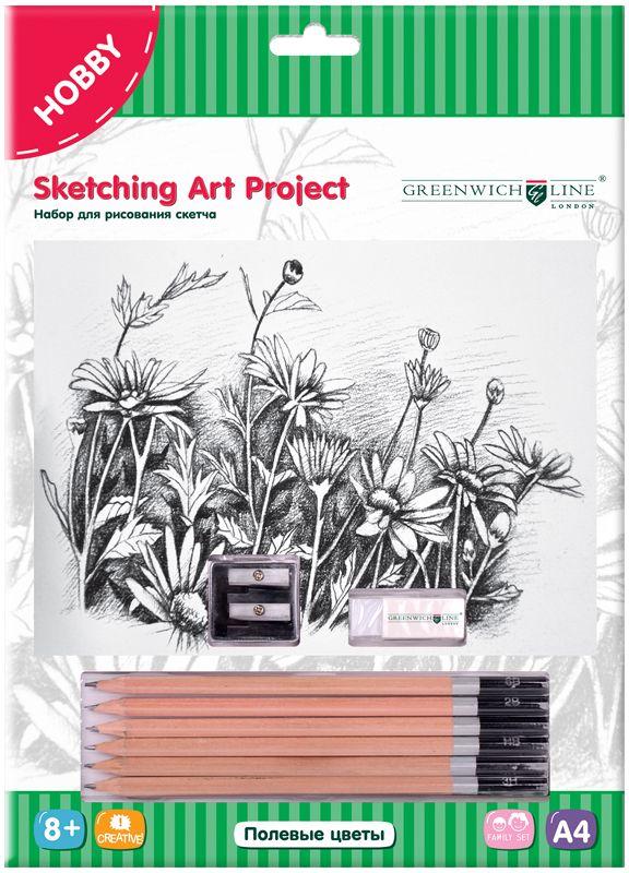 Greenwich Line Набор для рисования Полевые цветы