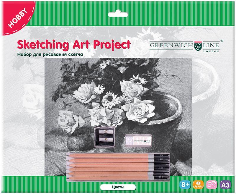 Greenwich Line Набор для рисования Цветы