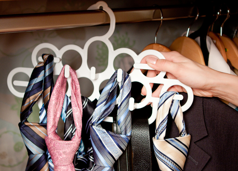 Вешалка для галстуков и ремней
