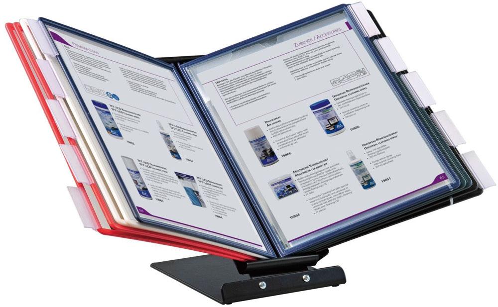 Office Force Stationery Настольная демосистема Qulck-Vlew Information Display А4 с поворотным механизмом цена и фото