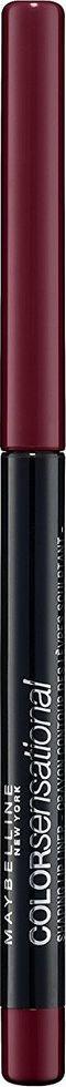 Maybelline New York Механический карандаш для губ Color Sensational, оттенок 110, Насыщенно винный, 6 г maybelline карандаш для губ механический color sensational 8 оттенков оттенок 110 насыщенно винный