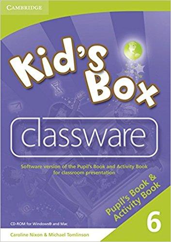 Kid's Box 6 Classware (CD-ROM)