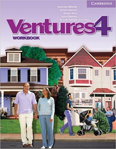 Ventures: Level 4: Workbook ventures level 4 workbook cd rom