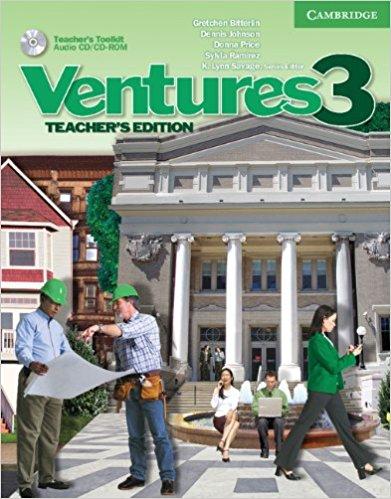 Ventures: Level 3: Teacher's Edition (+ CD-ROM) ventures 1 workbook cd rom