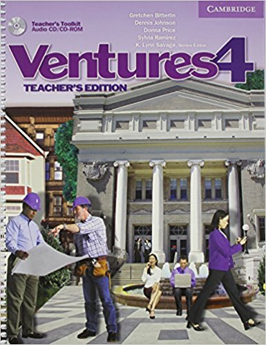 Ventures: Level 4: Teacher's Edition with Teacher's Toolkit (+Audio CD/CD-ROM) chiaro level b1 libro cd rom cd audio
