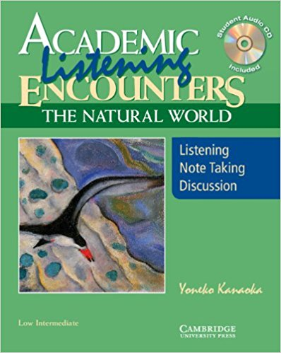 Academic Encounters: The Natural World 2 Book Set (Student's Reading Book and Student's Listening Book with Audio CD) collins spanish in one click book with cd