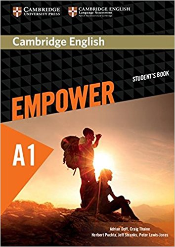Cambridge English: Empower A1: Student's Book cambridge english empower a2 teacher s book