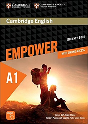 Cambridge English Empower Starter Student's Book, Online Assessment Practice, Online Workbook