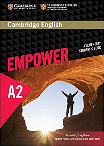 Cambridge English: Empower: Elementary Student's Book: Level A2 cambridge english empower a2 workbook with answers