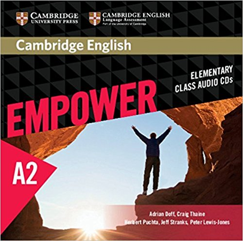 Cambridge English: Empower Elementary Class Audio (CD) cambridge english empower a2 workbook with answers