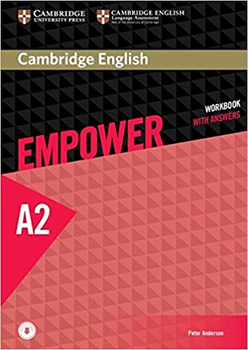 Cambridge English Empower A2: Workbook with Answers cambridge english empower a2 teacher s book