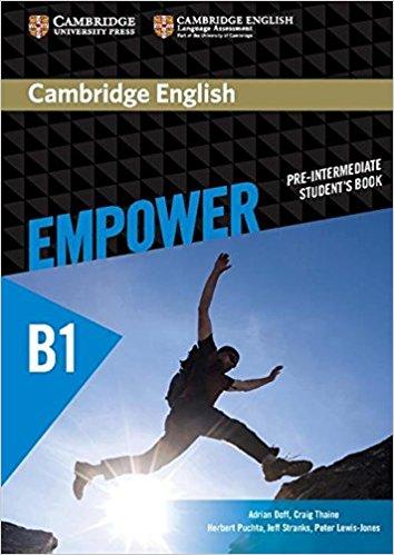 Cambridge English: Empower: Pre-Intermediate: Student's Book cambridge plays the pyjama party elt edition cambridge storybooks