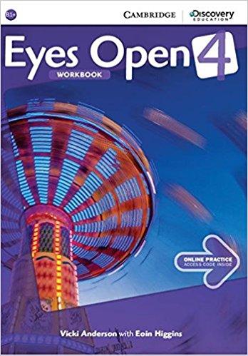 Eyes Open 4: Workbook with Online Practice eyes open 3 combo a with online workbook and online practice