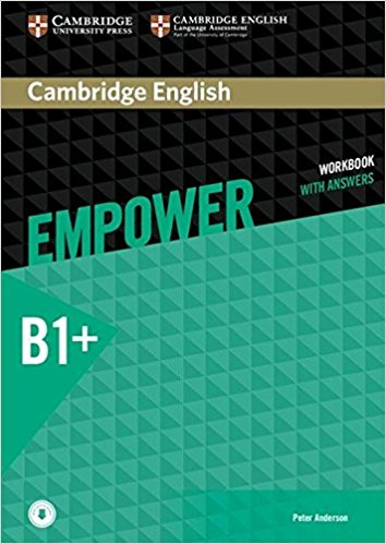 Cambridge English: Empower B+: Intermediate: Workbook with Answers with Audio CD grammarway 3 book with answers pre intermediate